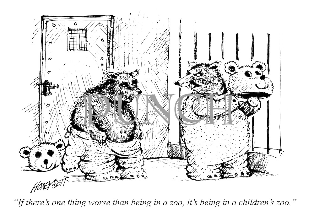 """If there's one thing worse than being in a zoo, it's being in a children's zoo."""