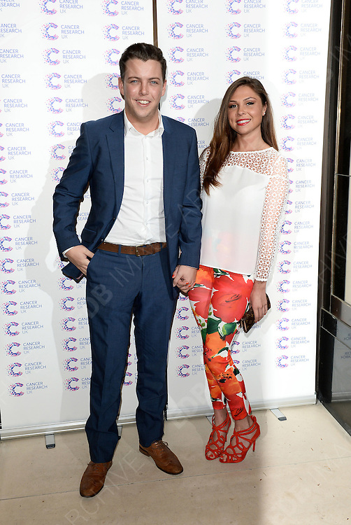 09.APRIL.2014. LONDON<br /> <br /> CODE - PM<br /> <br /> A FUNDRAISER HOSTED BY JOURNALIST JAMES INGHAM IN AID OF CANCER RESEARCH UK AHEAD OF HIS 2ND YEAR RUNNING THE LONDON MARATHON. <br /> <br /> HELD AT KENSINGTON ROOF GARDENS, LONDON<br /> <br /> BYLINE: EDBIMAGEARCHIVE.CO.UK<br /> <br /> *THIS IMAGE IS STRICTLY FOR UK NEWSPAPERS AND MAGAZINES ONLY*<br /> *FOR WORLD WIDE SALES AND WEB USE PLEASE CONTACT EDBIMAGEARCHIVE - 0208 954 5968*