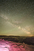 Night Photography at Palouse Falls in Washington