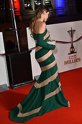 © Licensed to London News Pictures. 14/12/2016. AMY WILLERTON attends The Sun newspaper Millies Military Awards 2016 at Guildhall <br />