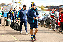 Jonny Arr of Worcester Warriors arrives at Welford Road - Mandatory by-line: Robbie Stephenson/JMP - 03/11/2018 - RUGBY - Welford Road Stadium - Leicester, England - Leicester Tigers v Worcester Warriors - Gallagher Premiership Rugby