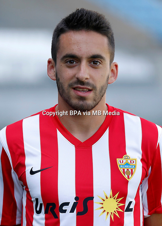 Spain - La Liga Adelante 2015-2016 / <br /> ( U.D. Almeria ) - <br /> Iago D&iacute;az Fernandez
