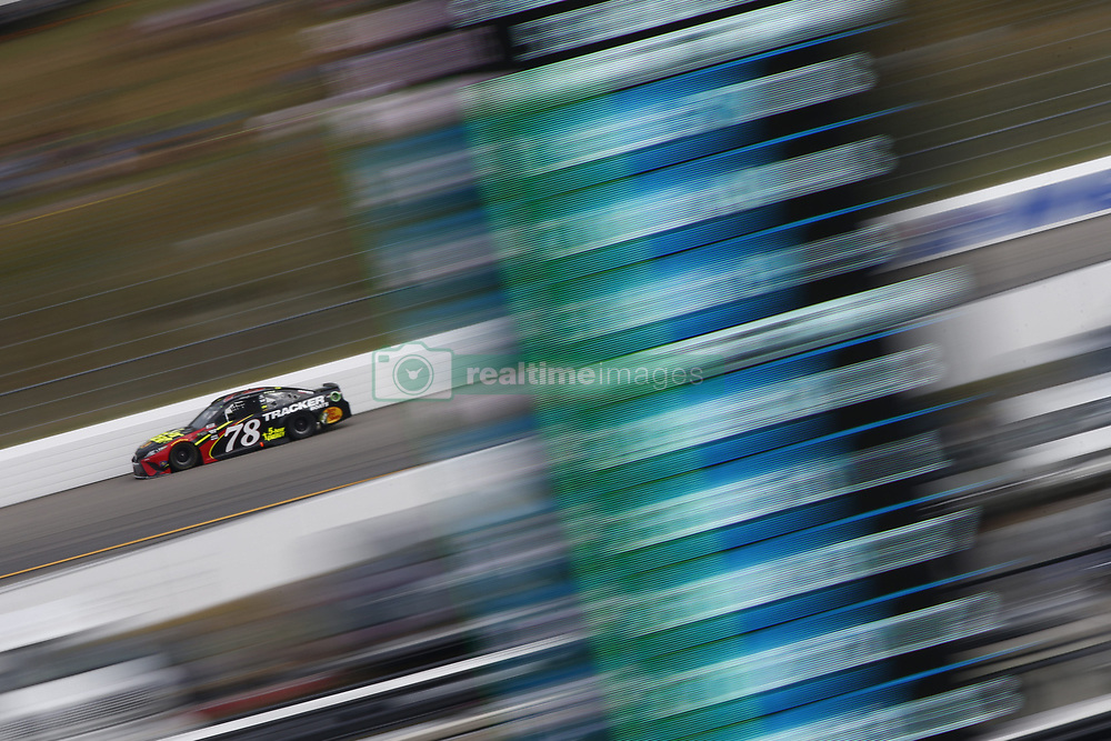 July 22, 2018 - Loudon, New Hampshire, United States of America - Martin Truex, Jr (78) battles for position during the Foxwoods Resort Casino 301 at New Hampshire Motor Speedway in Loudon, New Hampshire. (Credit Image: © Justin R. Noe Asp Inc/ASP via ZUMA Wire)