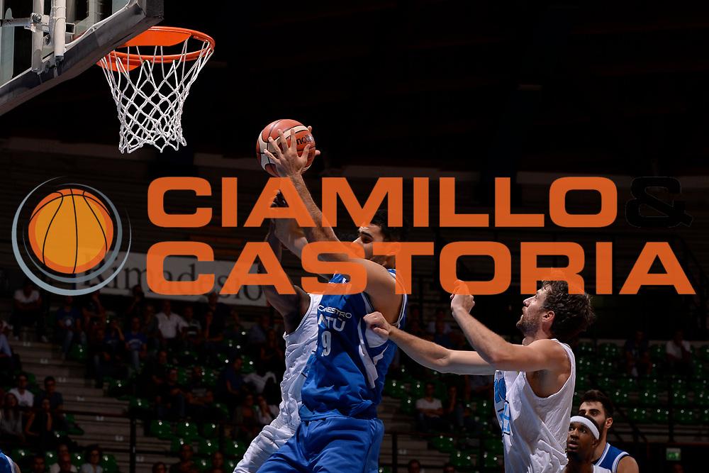 Maspero Giacomo<br /> Desio, 09/09/2017<br /> Trofeo Lombardia<br /> Precampionato Lega Basket Serie A<br /> Pallacanestro Cantu' - Guerino Vanoli Cremona<br /> Foto: M.Ozbot /Ciamillo Castoria
