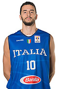 Raphael Gaspardo<br /> Nazionale Italiana Maschile Senior - Headshot<br /> FIP 2017<br /> Torino, 20/11/2017<br /> Foto M.Ceretti / Ciamillo-Castoria