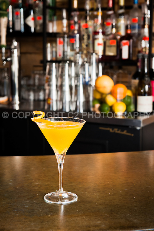 """""""Good Memory"""" - one of The Junction's signature cocktails."""