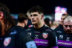 Louis Rees-Zammit of Gloucester Rugby after the final whistle of the match - Mandatory by-line: Ryan Hiscott/JMP - 14/02/2020 - RUGBY - Kingsholm - Gloucester, England - Gloucester Rugby v Exeter Chiefs - Gallagher Premiership