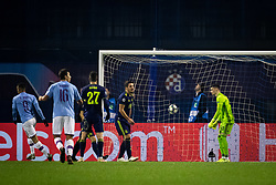 Gabriel Jesus of Manchester City scores and celebrates  during football match between GNK Dinamo Zagreb and Manchester City in 6th Round of UEFA Champions league 2019/20, on December 11, 2019 in Maksimir, Zagreb, Croatia. Photo by Blaž Weindorfer / Sportida