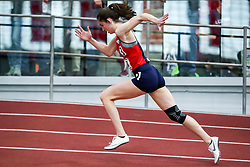 ECAC/IC4A Track and Field Indoor Championships<br /> 200 meters, Stony Brook, Amanda Stead, Start