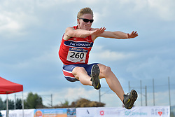 06/08/2017; Dragsund Nilsen, Vegard, T13, NOR at 2017 World Para Athletics Junior Championships, Nottwil, Switzerland