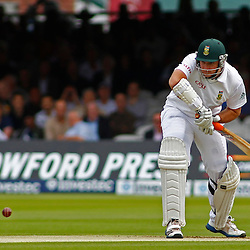 16/08/2012 London, England. South Africa's Graeme Smith batting during the third Investec cricket international test match between England and South Africa, played at the Lords Cricket Ground: Mandatory credit: Mitchell Gunn