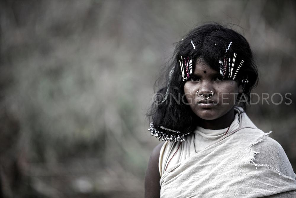 Dongria Kondh tribe, Orissa, India