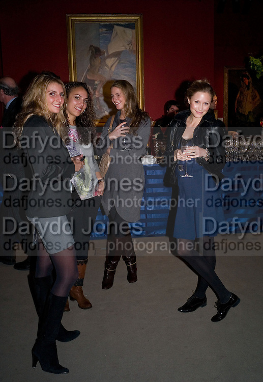 KATA NOUNOU; ALIA AL-SENUSSI; ANUNCIATA VON LICHTENSTEIN;  TEREZA SRBOVA. Preview of Greek Sale sponsored by Citibank. Sotheby's. New Bond st. London. 10 November 2008 *** Local Caption *** -DO NOT ARCHIVE -Copyright Photograph by Dafydd Jones. 248 Clapham Rd. London SW9 0PZ. Tel 0207 820 0771. www.dafjones.com