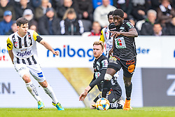 05.05.2019, TGW Arena, Pasching, AUT, 1. FBL, LASK vs RZ Pellets WAC, Meistergruppe, 29. Spieltag, im Bild Peter Michorl (LASK), Sekou Koita (WAC) // during the tipico Bundesliga master group 29th round match between LASK and RZ Pellets WAC at the TGW Arena in Pasching, Austria on 2019/05/05. EXPA Pictures © 2019, PhotoCredit: EXPA/ JFK