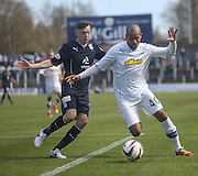 Darren Cole and Nicky Riley - Greenock Morton v Dundee, SPFL Championship at Cappielow<br /> <br />  - &copy; David Young - www.davidyoungphoto.co.uk - email: davidyoungphoto@gmail.com