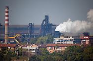 Taranto, 23/09/2012: Acciaieria ILVA - ILVA steel factory.<br /> &copy;Andrea Sabbadini