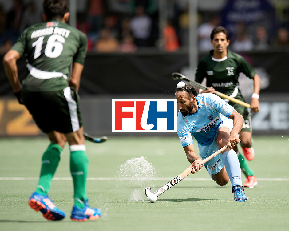 BREDA - Rabobank Hockey Champions Trophy<br /> India - Pakistan<br /> Photo: Sardar Singh.<br /> COPYRIGHT WORLDSPORTPICS FRANK UIJLENBROEK