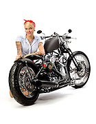 Darwin Motorcycles Brass Ball Bobber Model 1