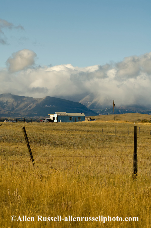 Blackfeet Indian Reservation, Indian Housing, Montana