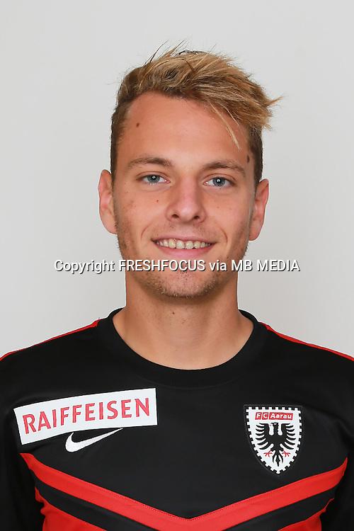 10.07.2014; Aarau; Fussball Super League - Portrait  FC Aarau;<br />Oliver Jaeckle (Aarau) (Claudia Minder/freshfocus)