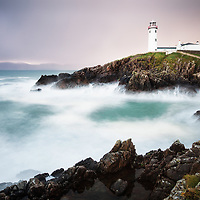 Fanad Head Lighthouse in County Donegal, Ireland.