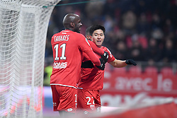 January 26, 2019 - Dijon, France - 11 JULIO TAVARES (DIJ) - 22 CHANGHOON KWON (DIJ) - JOIE (Credit Image: © Panoramic via ZUMA Press)