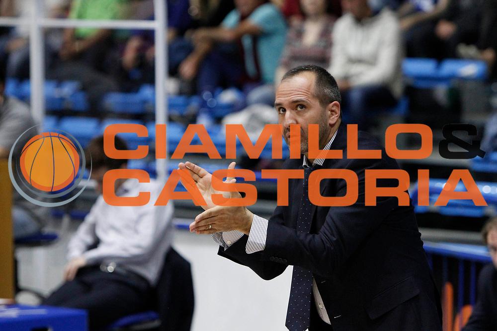 DiCarlo Gennaro<br /> Betaland Capo D'Orlando - EA7 Emporio Armani Milano<br /> Lega Basket Serie A 2016/2017<br /> Playoff Gara 4<br /> Capo d'Orlando 18/05/2017<br /> Foto Ciamillo-Castoria