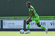 Forest Green Rovers Ebou Adams(14) on the ball during the EFL Sky Bet League 2 match between Forest Green Rovers and Grimsby Town FC at the New Lawn, Forest Green, United Kingdom on 17 August 2019.