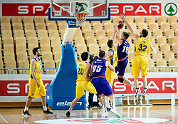 Urban Oman of Helios Suns during basketball match between KK Hopsi Polzela and KK Helios Suns in semifinal of Spar Cup 2018/19, on February 16, 2019 in Arena Bonifika, Koper / Capodistria, Slovenia. Photo by Vid Ponikvar / Sportida