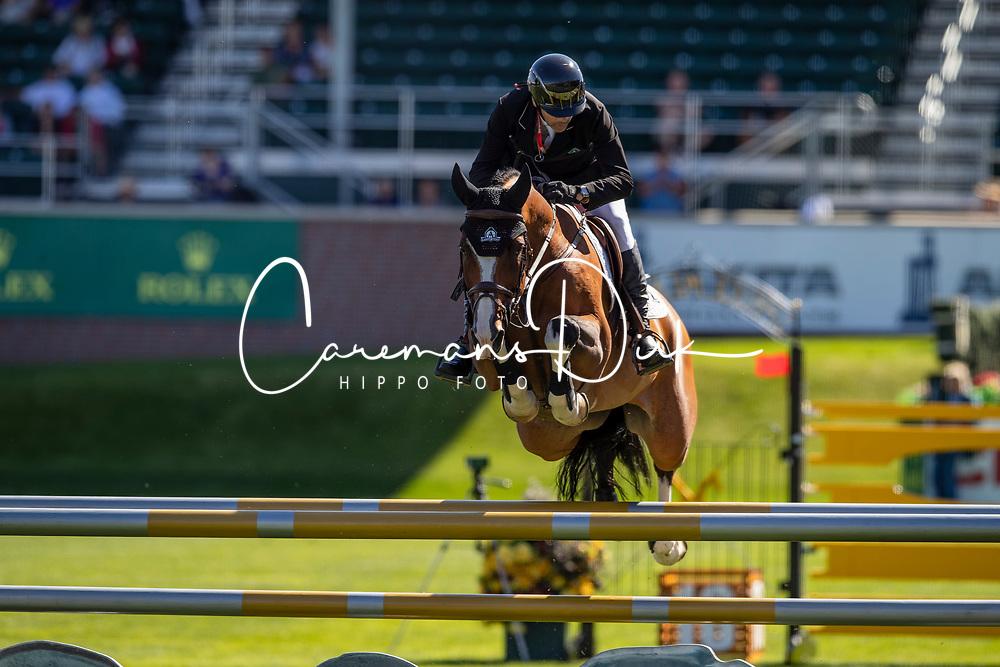 Lamaze Eric, CAN, Coco Bongo<br /> Spruce Meadows Masters - Calgary 2019<br /> © Hippo Foto - Dirk Caremans<br />  04/09/2019
