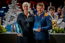 L'Année Hippique Awards<br /> Van der Net Inge, Exell Boyd, Best Driver of the Year<br /> CHI Genève 2019<br /> © Hippo Foto - Dirk Caremans<br />  14/12/2019