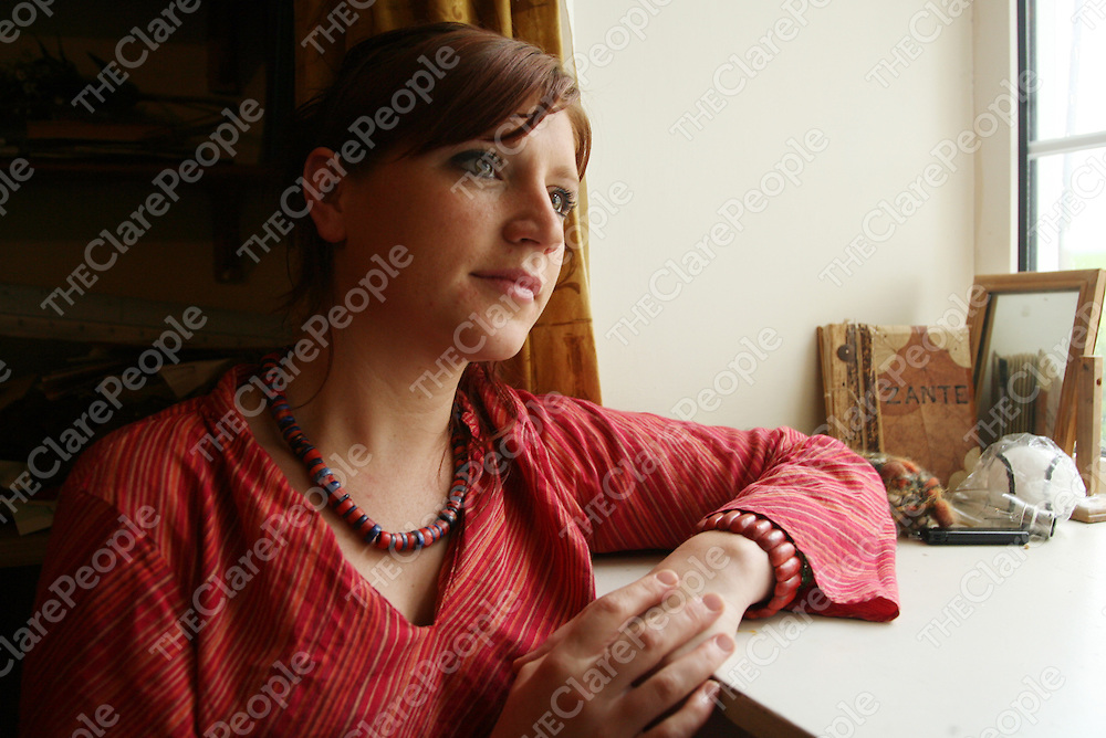 Aileen Downes at home in Kilrush.<br />