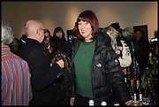 JANET STREET-PORTER, Private view, Paul Simonon- Wot no Bike, ICA Nash and Brandon Rooms, London. 20 January 2015