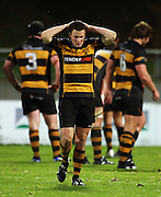 Taranaki fullback Jack Cameron.<br /> Air New Zealand Cup rugby match - Taranaki v Auckland at Yarrows Stadium, New Plymouth, New Zealand. Friday 9 October 2009. Photo: Dave Lintott/PHOTOSPORT