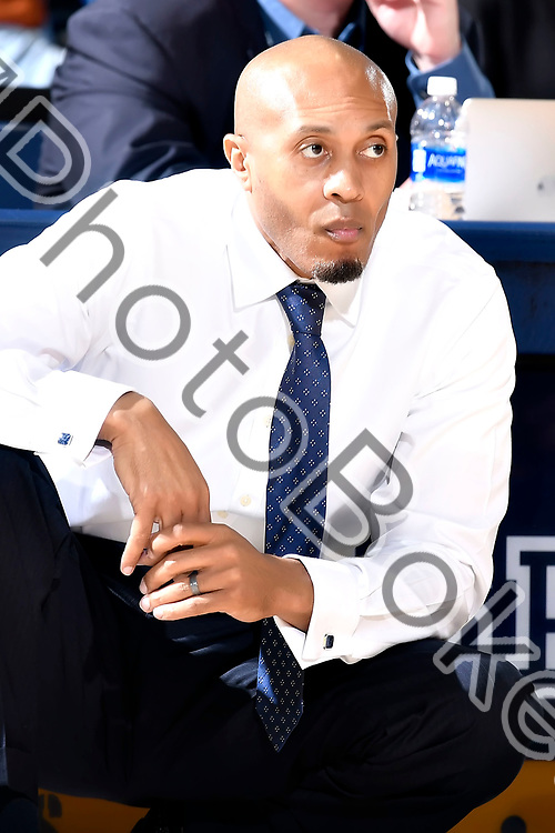 2018 February 01 - FIU's head coach Anthony Evans. <br /> Florida International University defeated Southern Miss, 76-70, at the Ocean Bank Convocation Center, Miami, Florida. (Photo by: Alex J. Hernandez / photobokeh.com) This image is copyright by PhotoBokeh.com and may not be reproduced or retransmitted without express written consent of PhotoBokeh.com. &copy;2018 PhotoBokeh.com - All Rights Reserved
