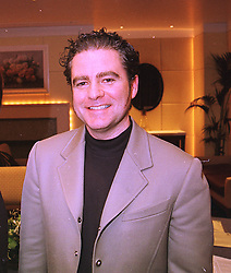 CHARLES WORTHINGTON the leading hairdresser, at a reception in London on 4th February 1998.MFD 6 MO