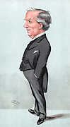 Herbert Henry Asquith (1852-1928) British Liberal statesman. Prime Minister 1908-1916. Cartoon by 'Spy' (Leslie Ward) from 'Vanity Fair', London, July 1904.