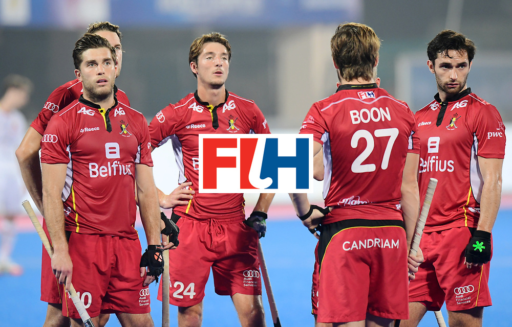 Odisha Men's Hockey World League Final Bhubaneswar 2017<br /> Match id:07<br /> Belgium v Spain<br /> Foto: penalty corner<br /> WORLDSPORTPICS COPYRIGHT FRANK UIJLENBROEK