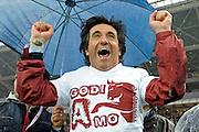 © Filippo Alfero<br /> Torino vs Modena - Serie B 2011 / 2012<br /> Torino, 20/05/2012<br /> sport calcio<br /> Nella foto: esultanza Urbano Cairo