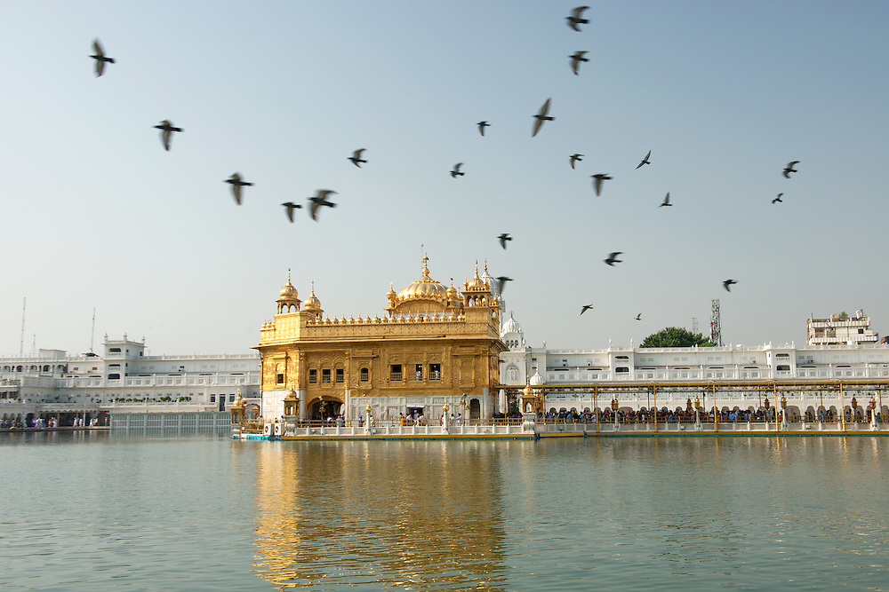 Golden Temple at Amritsar of India