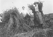 Holding the Home Front<br /> The Women&rsquo;s Land Army in the First World War book by Pen and sward<br /> <br /> Within days of the start of the First World War there were calls for women to come to the fields, but it would be almost three years before the Women&rsquo;s Land Army was established. In that time though, various private and public initiatives would be launched to pull women onto the land. The Women&rsquo;s Land Army would be shaped as much by the successes and failures of these earlier enterprises as by the precise requirements of 1917. It was a process of evolution, not revolution, and agricultural policy had also evolved over the course of the first three years of the war. By the spring of 1917 farmers were being called upon to plough out, to push back the borders and extend the cultivated acreage back to the highs of the 1870s. Agriculture would thus need most labour just as it had least available. Britain&rsquo;s food security had never looked most precarious than it did at the start of 1917.<br /> <br /> Photo Shows: Bessie (&lsquo;Cuckoo&rsquo;) Ziman and fellow workers. (Private Papers of Miss B.A. Ziman<br /> &copy;Pen and sward/Exclusivepix Media