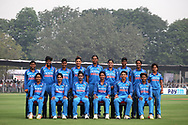 Indian team photo during the third women's one day International ( ODI ) match between India and Australia held at the Reliance Cricket Stadium in Vadodara, India on the 18th March 2018<br /> <br /> Photo by Vipin Pawar / BCCI / SPORTZPICS
