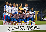 FOOTBALL: The players of Panama before the friendly match between Denmark and Panama at Brøndby Stadium on March 22, 2018 in Brøndby, Copenhagen, Denmark. Photo by: Claus Birch / ClausBirch.dk.
