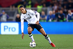 May 2, 2018 - Rome, Lazio, Italy - AS Roma v FC Liverpool - Champions League semi-final second leg.Virgil Van Dijk of Liverpool at Olimpico Stadium in Rome, Italy on May 02, 2018. (Credit Image: © Matteo Ciambelli/NurPhoto via ZUMA Press)