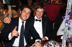Left to right, LUCA DEL BONO and ZAC GOLDSMITH at the party Belle Epoque hosted by The Royal Parks Foundation and Champagne Perrier Jouet held at the Lido Lawns of the Serpentine, Hyde Park, London on 14th September 2006.<br /><br />NON EXCLUSIVE - WORLD RIGHTS