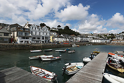 A general view of St Mawes in Cornwall