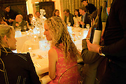 KATE FREUD, Freud Museum dinner, Maresfield Gardens. 16 June 2011. <br /> <br />  , -DO NOT ARCHIVE-© Copyright Photograph by Dafydd Jones. 248 Clapham Rd. London SW9 0PZ. Tel 0207 820 0771. www.dafjones.com.