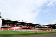 The City Ground before the Sky Bet Championship match between Nottingham Forest and Brentford at the City Ground, Nottingham, England on 2 April 2016. Photo by Chris Wynne.