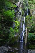 Pocono Mountains, Silver Thread Waterfalls, Delaware Gap National Recreation Area, PA
