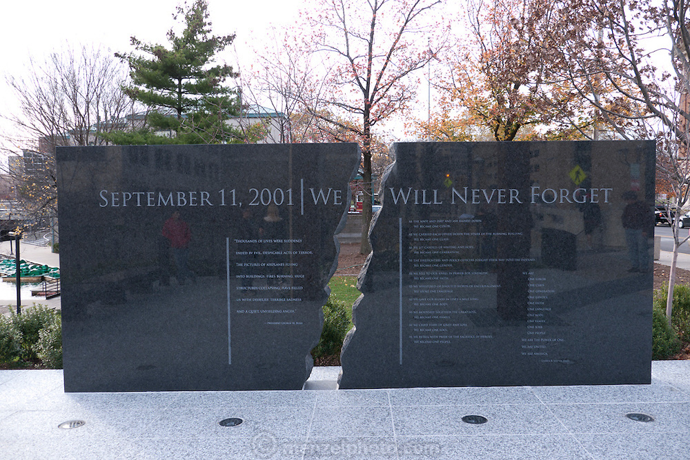 Indianapolis, Indiana. September 11 Memorial 9/11